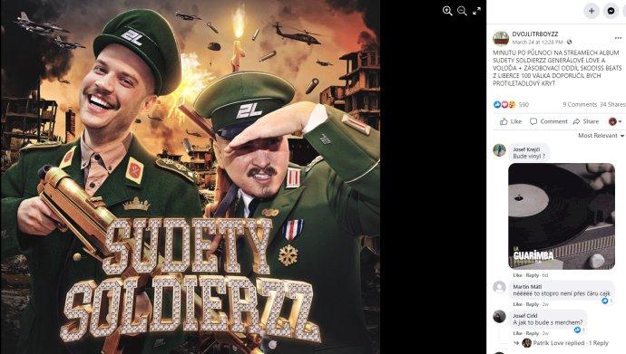 Album Sudety Soldierzz od Dvojlitrboyzz. Foto: Facebook