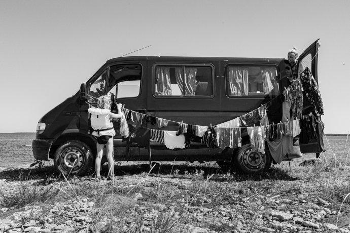Fotograf Štěpán Hon je společně se svou ženou Klárou autorem knihy Náš evropský deník, v níž shrnuje zážitky ze sedmi let cestování s dětmi po Evropě. Foto: Štěpán Hon