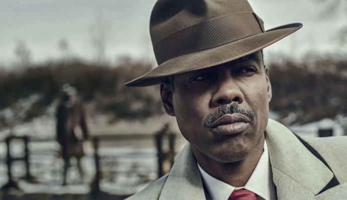 Chris Rock jako gangster Loy Cannon ve čtvrté řadě seriálu Fargo. Foto: Matthias Clamer, FX