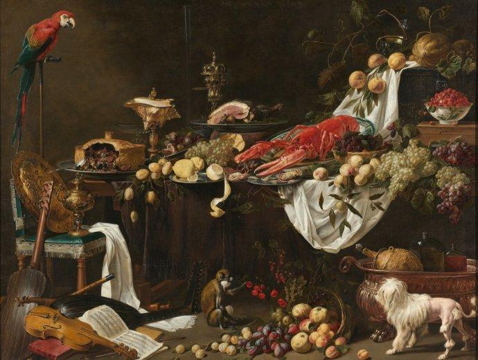 """""""My se přežíráme a tloustneme právě proto, že jsme poslušni instinktů zděděných po předcích."""" Foto: Rijksmuseum"""
