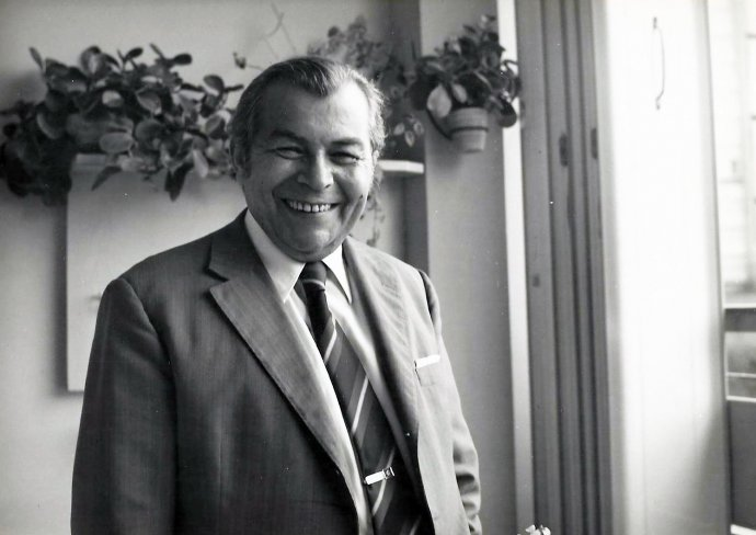 Poslední fotografie spisovatele Ladislava Grosmana z rodinného archivu. Repro: archiv rodiny Grosmanových