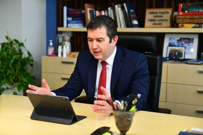 Znovuzvolený předseda ČSSD Jan Hamáček. Foto:ČSSD