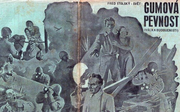 Obálka sešitového vydání kuriózního braku Gumová pevnost. Repro: Martin Jiroušek