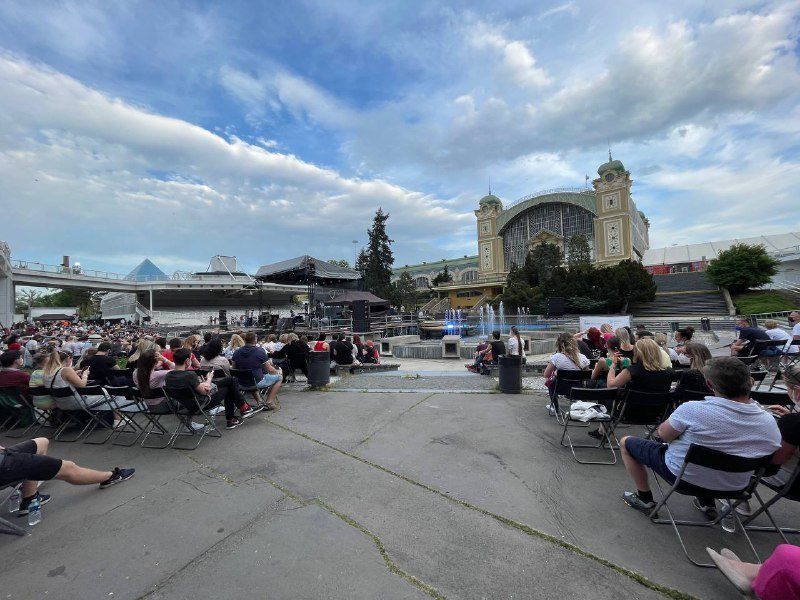 Koncert na pražském Výstavišti. Foto:Tomáš Linhart, DeníkN