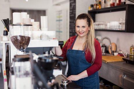 Dagmar Kneslová, majitelka Bystré Židle vŽidlochovicích nedaleko Brna, otevřela svůj podnik prvního dubna. Foto:archiv Bystrá Židle