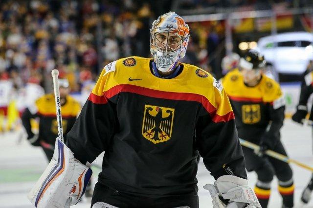 Hokejový brankář Thomas Greiss si na světovém šampionátu nezahraje. Foto: ČTK / Horn/ Eibner-Pressefoto