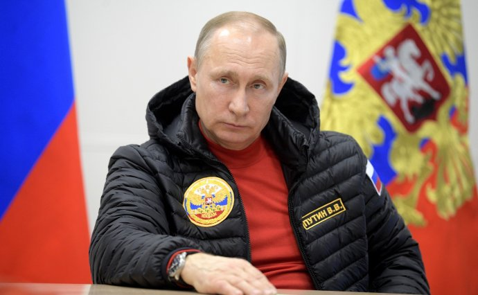 """Putin uvěřil konspirační teorii o""""hybridní válce""""– jenže vopačném gardu, než jak se tento pojem používá na Západě. Podle Galeottiho uvěřil, že právě Západ proti němu vede hybridní válku. Foto: kremlin.ru"""