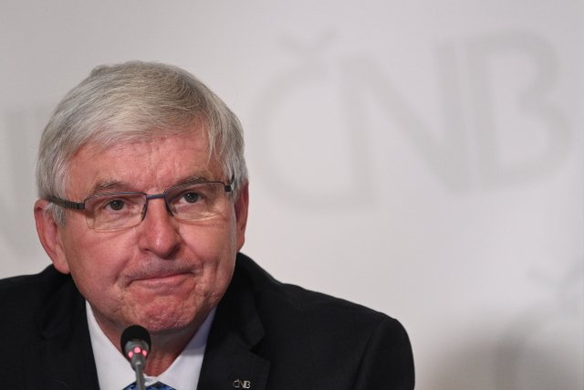 Guvernér České národní banky Jiří Rusnok. Foto:ČTK