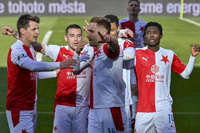 Slavia naposled vyřadila Spartu vsemifinále domácího poháru 3:0. Foto:ČTK/ Šimánek Vít