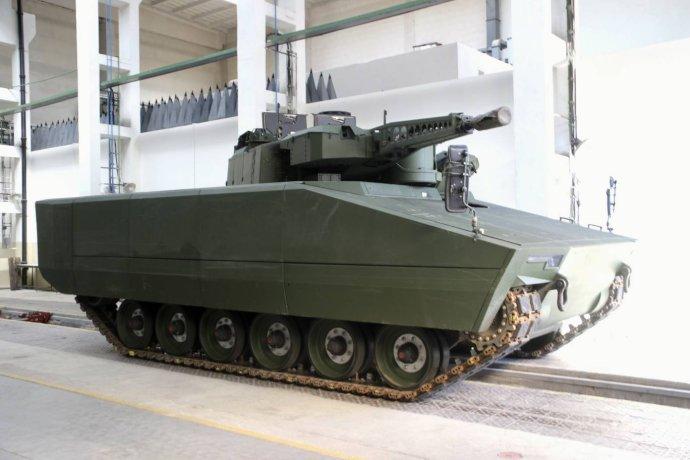 Pásové bojové vozidlo pěchoty Lynx, výrobek zbrojovky Rheinmetall Landsysteme. Foto: Ministerstvo obrany ČR