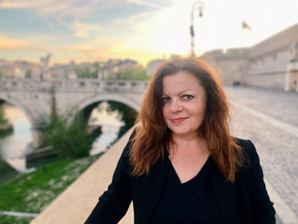 Martina Leierová pod italským nebem. Foto:archiv M.Leierové