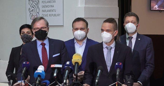 Koalice Spolu oznámila společný postup se Starosty a Piráty. Foto: FB ODS