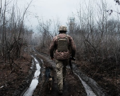 Už sedmý rok musí Ukrajina držet na Donbase svou armádu, část hranic s Ruskem stále nekonroluje a Donbas se Kyjevu nepodřizuje. Foto: Jakub Laichter