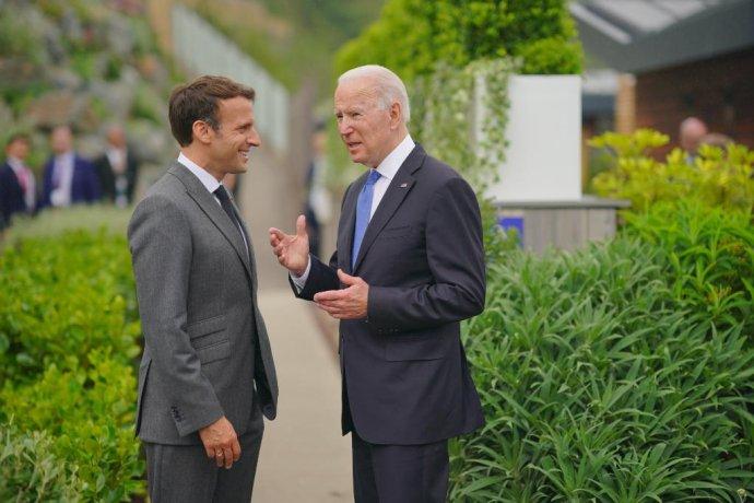 Americký prezident Joe Biden se má koncem října setkat se svým francouzským protějškem Emmanuelem Macronem. Mezi oběma zeměmi vznikla diplomatická roztržka po uzavření nového bezpečnostního paktu Američanů s Británií a Austrálií. Foto: White House