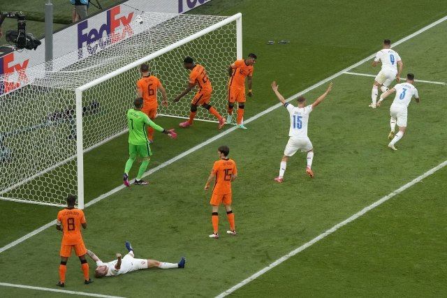 Čeští fotbalisté zvítězili nad Nizozemci 2:0. Foto:ČTK