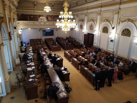 Jednání Sněmovny ovyslovení nedůvěry vládě. Foto:Barbora Janáková, DeníkN