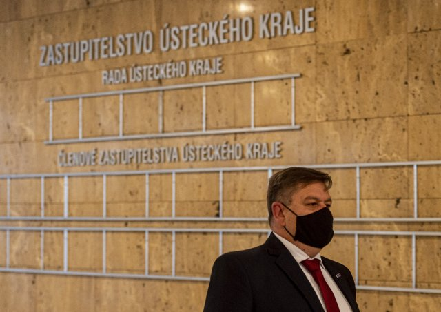 Hejtman Ústeckého kraje Jan Schiller (ANO). Foto:ČTK