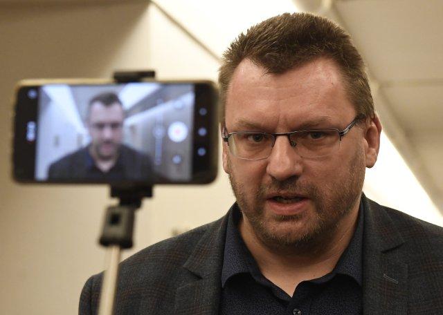 Poslanec Lubomír Volný je nyní aktivní zejména na Telegramu. Foto: ČTK