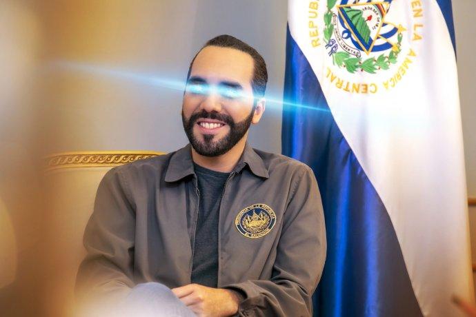 Salvadorský prezident Nayib Armando Bukele Ortez jako fanoušek kryptoměn. Foto:Bukeleho profilvý snímek na jeho Twitteru, twitter.com/nayibbukele