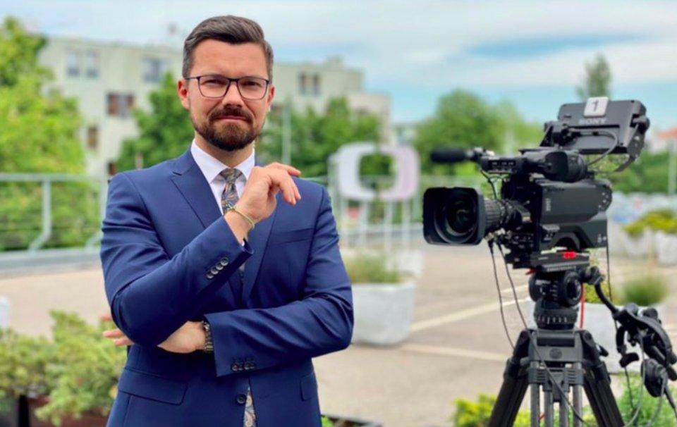 Moderátor Tomáš Drahoňovský. Foto:Česká televize