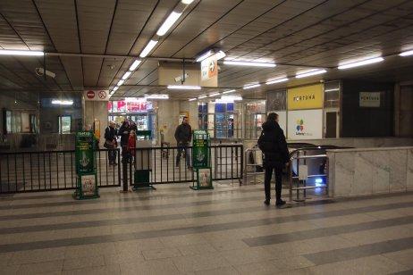 Stanice metra C Pankrác. Foto: Multimediaexpo, Flickr CC BY-NC 2.0