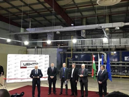 Otevření závodu Centr-Keramika mělo české firmě přinést nové příležitosti. Foto: Ministerstvo zahraničních věcí