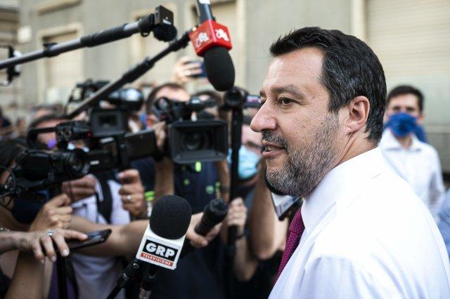 """""""Můžu oimigraci mlčet, pokud se problémy vyřeší jinde,"""" říká Salvini. Foto:ČTK"""
