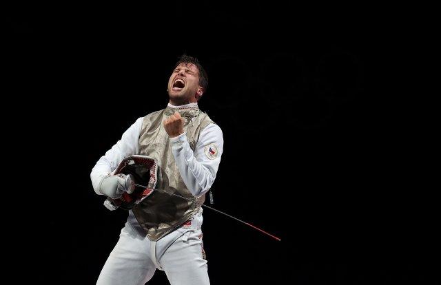Alexander Choupenitch získal druhou medaili pro českou výpravu. Foto: ČTK/Sin-chua