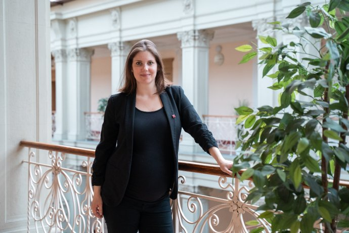 Radní Jihomoravského kraje Jana Leitnerová chce svůj mandát naplno vykonávat ipo porodu. Foto:archiv Jany Leitnerové