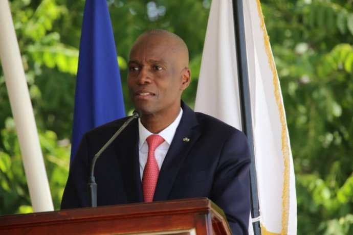 Prezidenta Haiti Jovenela Moïseho připravili oživot ozbrojenci, kteří vnoci na 7.července vnikli do jeho rezidence. Foto:Ministère de la Communication, Haiti
