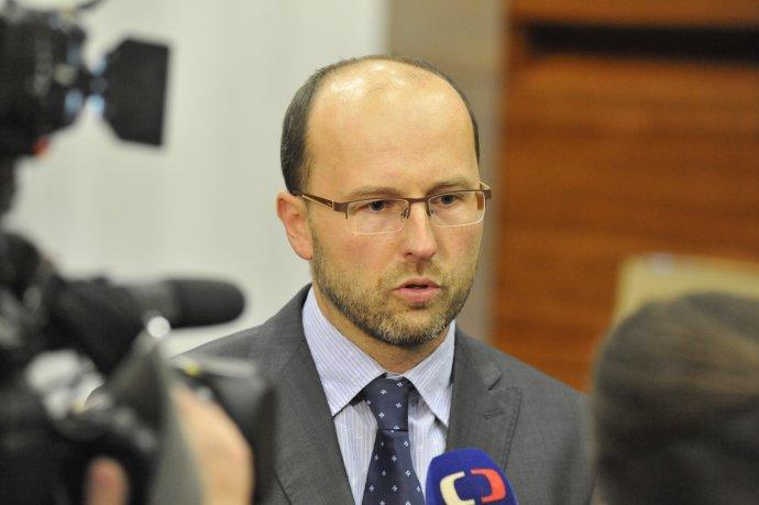 Soudce Petr Mikeš, jehož senát zrušil nařízení nosit respirátory. Foto: ČTK