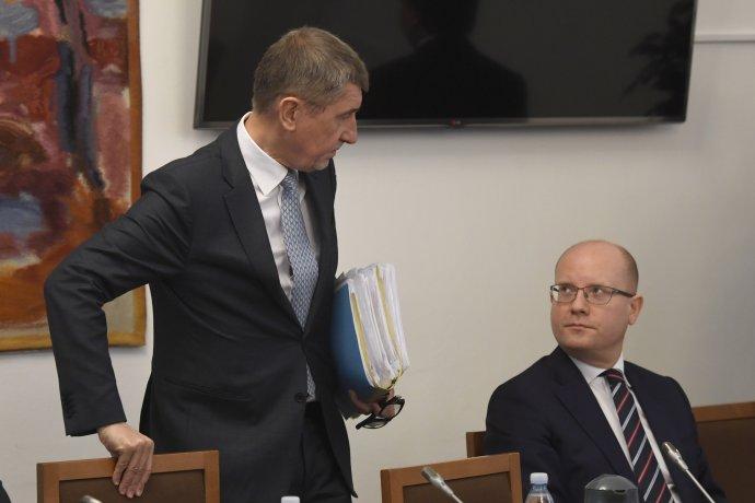 Poté, co se dostal do sporu s Babišem a Zemanem, se Sobotky jeho strana dost nevybíravě zbavila. Ilustrační foto: ČTK