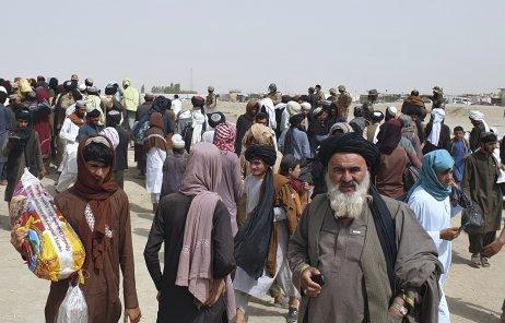 Tálibán vstoupil do Kábulu, z města se snaží uprchnout tisíce lidí. Foto:Tarík Ačakzaj, AP/ČTK