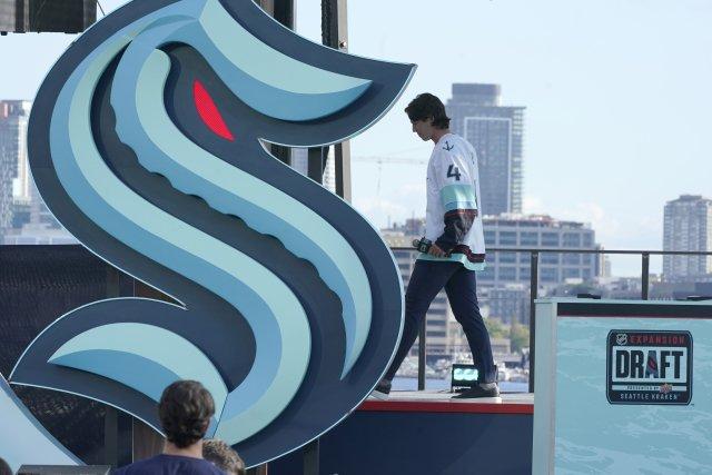 Logo 32. klubu v NHL. Foto: ČTK / AP / Ted S. Warren