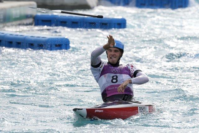 Lukáš Rohan získal pro českou výpravu první medaili. Foto:ČTK/AP/Kirsty Wigglesworth