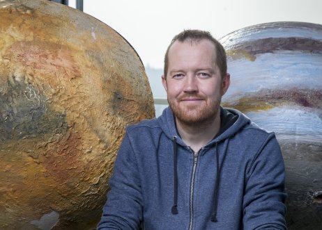 Vulkanolog a planetolog Petr Brož. Foto: ffoto, Wikipedia CC BY-SA 4.0
