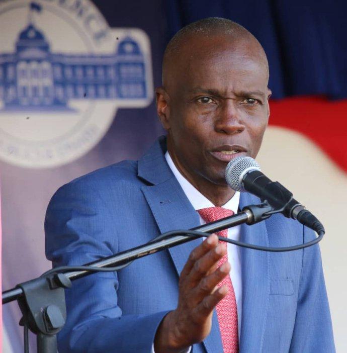 Třiapadesátiletý Moïse podlehl střelným zraněním, jež mu způsobili neznámí útočníci vnoci na 7.července vjeho prezidentské rezidenci. Foto:Ministère de la Communication, Haiti