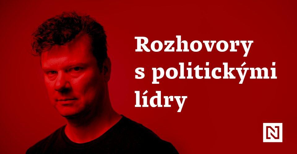 Předvolebním speciálem Studia N provází Jan Moláček. Grafika: Deník N