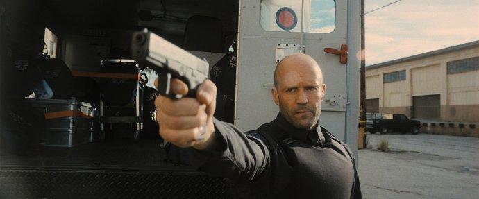 Jason Statham a jeho typický výraz. Foto: Metro Goldwyn Mayer Pictures