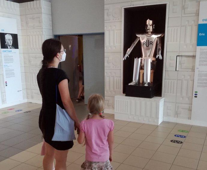 Výstava Robot 2020vTechnickém muzeu vBrně. Foto:Ivan Adamovič, DeníkN