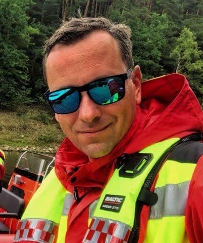 David Smejkal, prezident Vodní záchranné služby Českého červeného kříže Foto: archiv Davida Smejkala