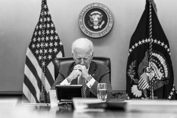 Joe Biden ještě minulý měsíc ujišťoval, že Tálibán Kábul neovládne. Stalo se ale přesně to. Foto:Adam Schultz, Bílý dům, Flickr