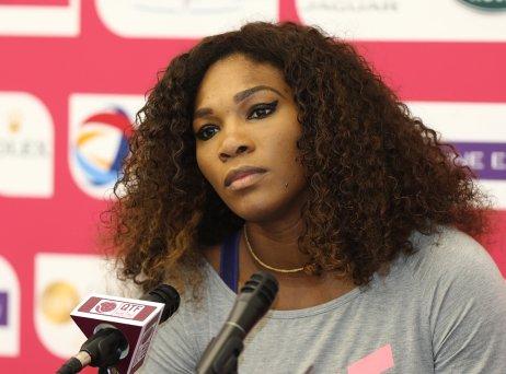 Serena Williamsová přišla odalší šanci vyhrát grandslamový turnaj. Tím posledním, vněmž zvítězila, bylo Australian Open vroce 2017. Foto:Vinod Divakaran, Flickr,(CC BY 2.0)