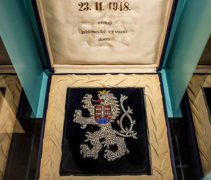 Český lev de luxe. Foto: Národní muzeum