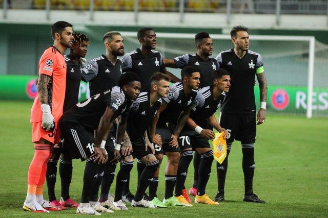 Tiraspol prošel do základní skupiny Ligy mistrů přes chorvatské Dinamo Záhřeb. Foto:ČTK/PA