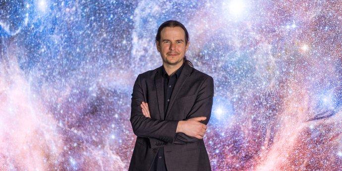 Docent Norbert Werner dal Brnu přednost před Stanfordem. Foto:Radek Míča, Universitas.