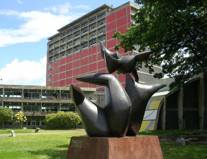 Venezuelská ústřední univerzita vroce 2009. Foto:Caracas1830, Wikimedia Commons, CC BY 2.0
