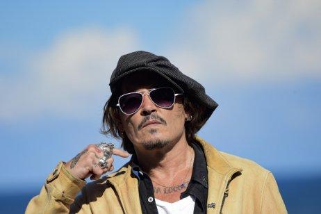 Americký herec Johnny Depp navštívil španělský festival San Sebastian již vroce 2020. Foto:Alvaro Barrientos, ČTK/AP
