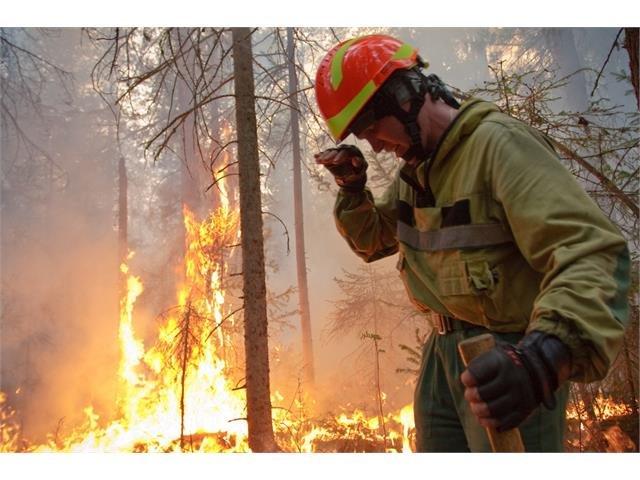 Rusko hoří každý rok. Letos ale Sibiř postihly požáry, které o sobě daly znát v Mongolsku i na severním pólu. Foto: Avialesoochrana