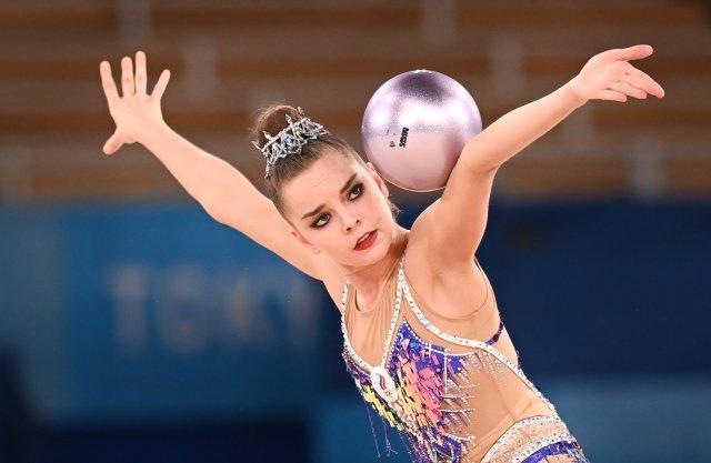 Dina Averinová se musela vTokiu spokojit sdruhým místem. Foto:ČTK/Xinhua